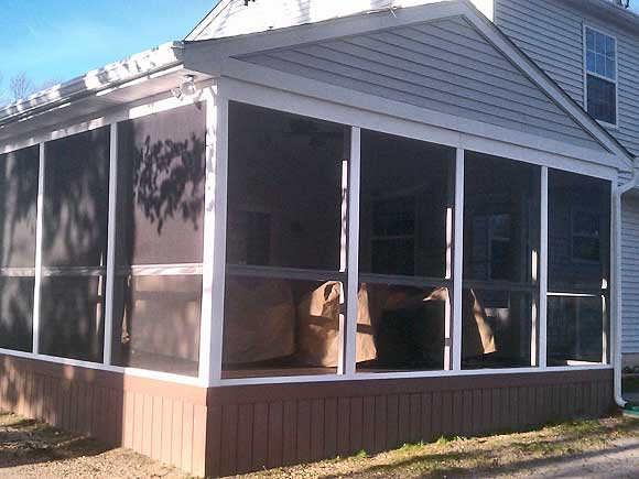 South Jersey Home Addition Garage Sunroom